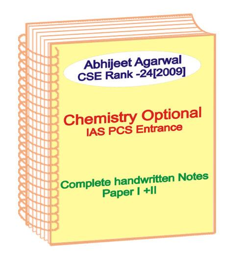 Chemistry Toppers Handwritten Notes - Mariagegironde